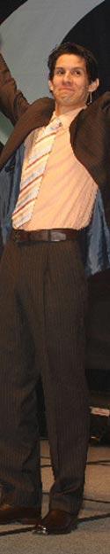 Pratrick Combs, writer, speaker, entertainer