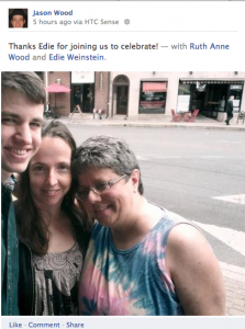 June 18 2012 with Edie Weinstein