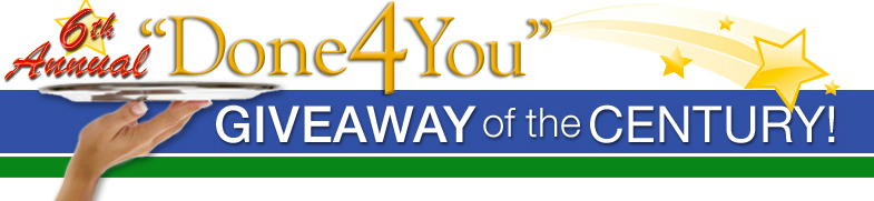 Done 4 You Giveaway 2014