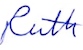 ruth signature one name